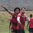 Gedoz e Baraka são referências no time do Vitória