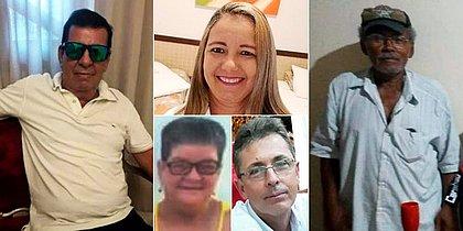 Cinco vítimas morreram na horas