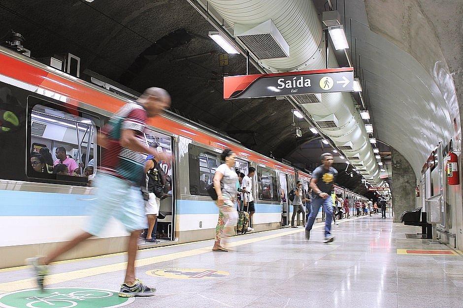 Uso de máscaras também vai ser obrigatório no metrô de Salvador
