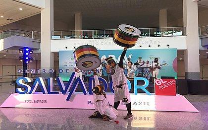 Banda Olodum participa do vídeo da campanha 'Vem meu amor'