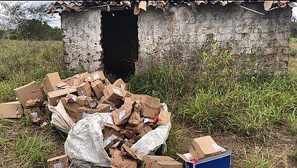 Bandidos estavam em uma casa na zona rural