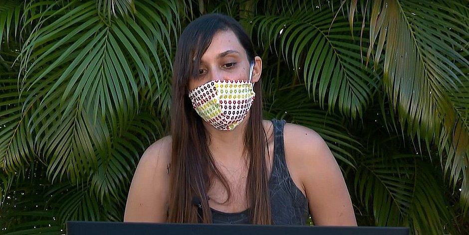 Tatiana Badaró, uma das 14 mulheres que acusa o líder Jair Tércio no Ministério Público