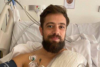 O ator Rafael Cardoso se percebeu cardiopata depois de exames de rotina no pós-covid
