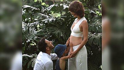 Junior Lima anuncia que será pai pela segunda vez
