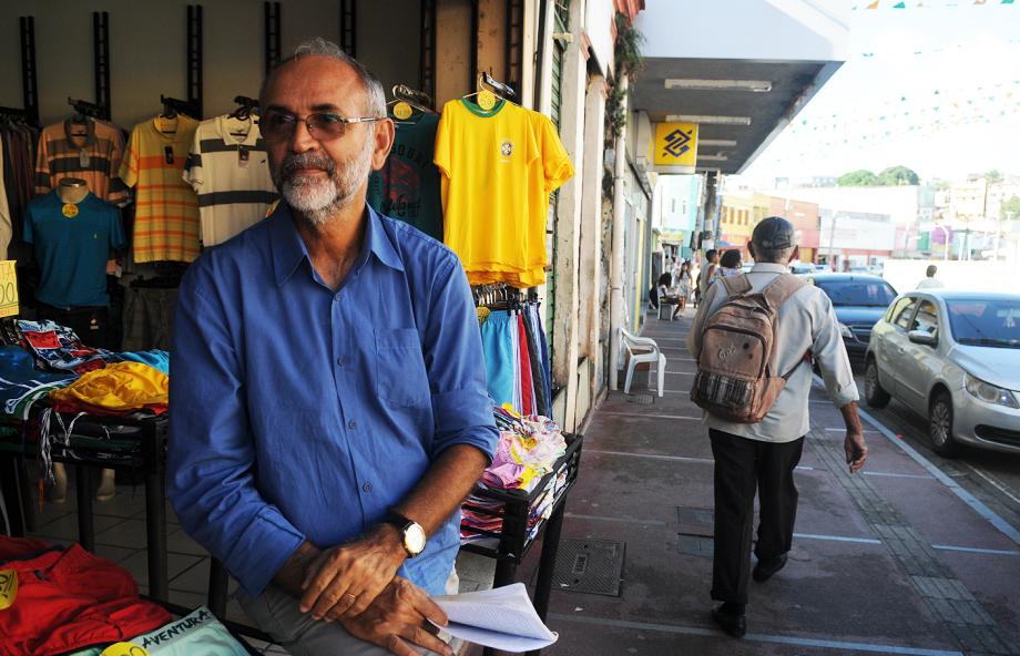 Ruy Barbosa, presidente da Albasa, lamentou dia péssimo nas vendas
