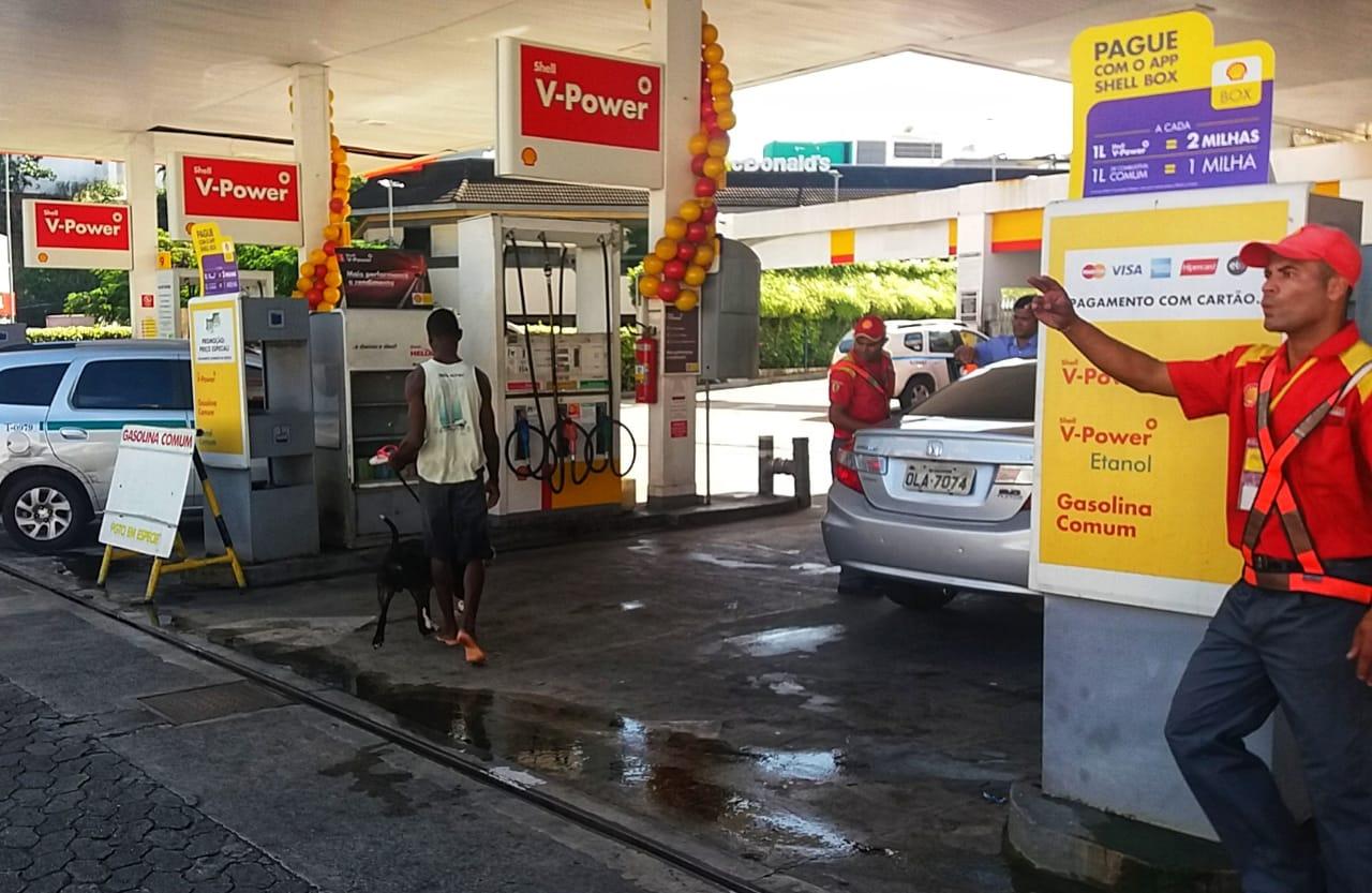 Posto Chaminé - Shell, no Rio Vermelho