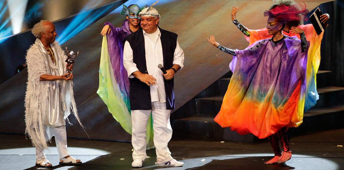 Gerônimo Santana ganhou categoria especial pela Composição Musical do espetáculo De Um Tudo