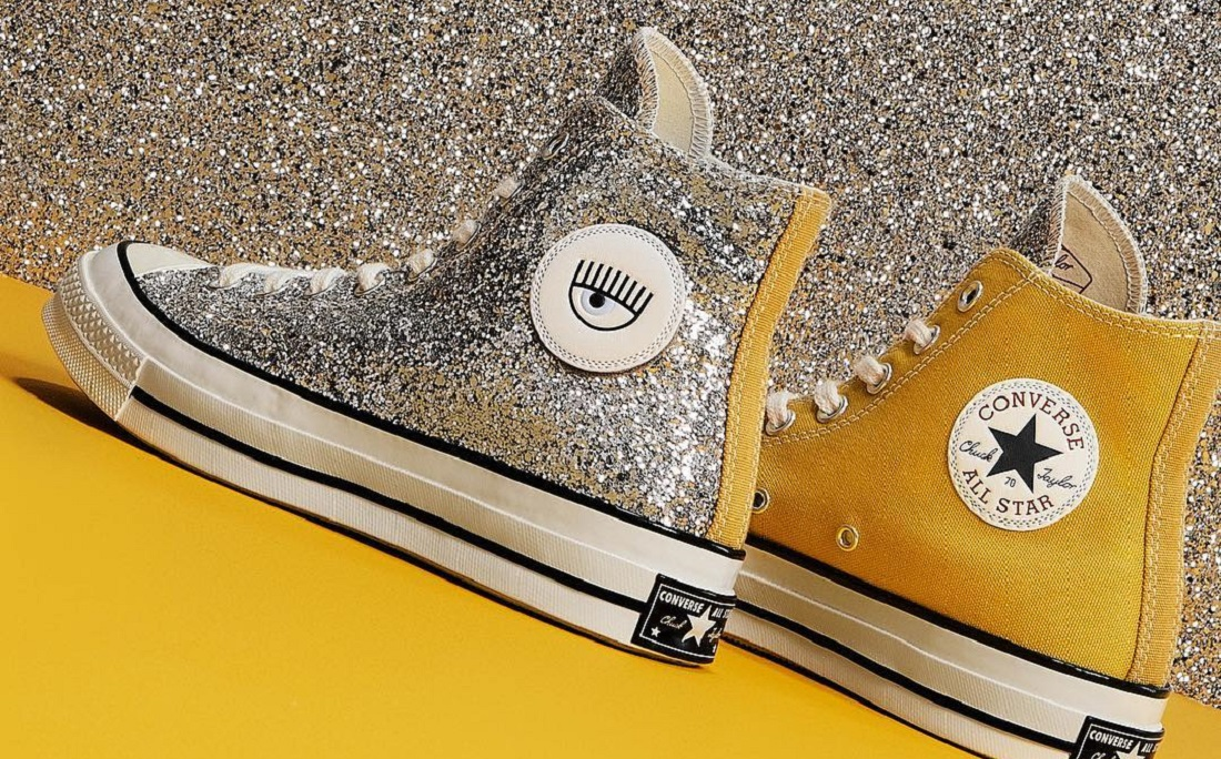 3466cf4689a All Star ganha coleção brilhante com vários tênis de glitter - Jornal  CORREIO