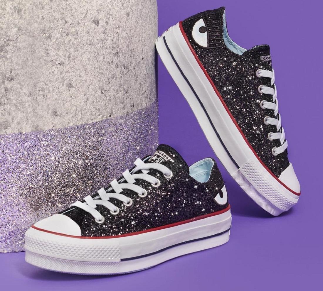242166676 All Star ganha coleção brilhante com vários tênis de glitter - Jornal  CORREIO | Notícias e opiniões que a Bahia quer saber