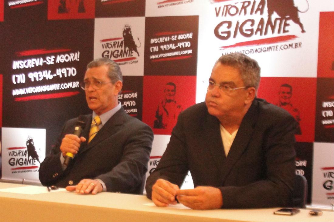 Walter Seijo e Paulo Carneiro concorreram juntos em 2016