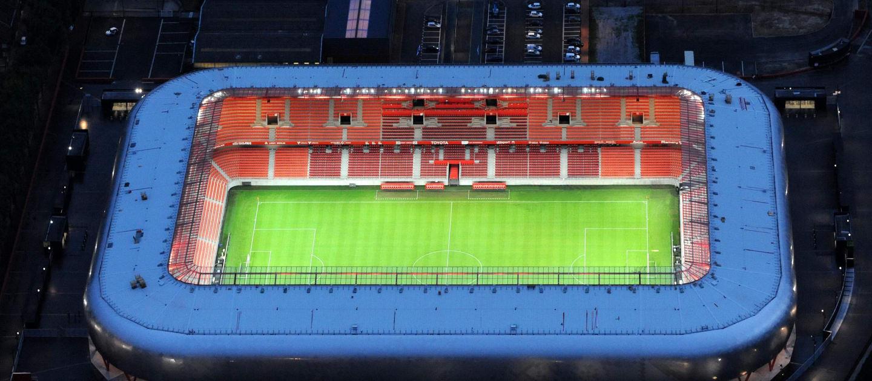 Stade du Hainaut: com capacidade para 25.172 torcedores, fica na cidade de Valenciennes e receberá o último jogo do Brasil na fase de grupos, contra a Itália