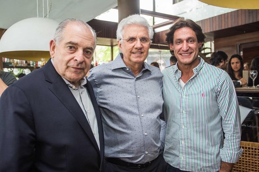 Antonio Carlos Júnior, Carlos Ricardo Gaban e Luis Gaban