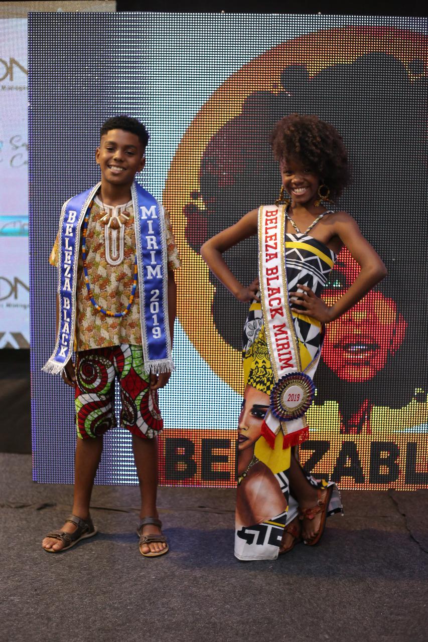 Beleza Black Mirim - João Guilherme e Emanuela Santos