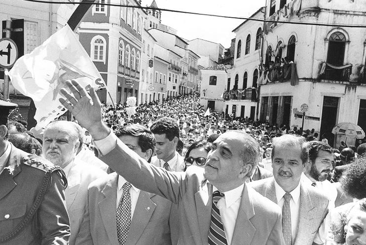 O ex-governador Paulo Souto, em 1995