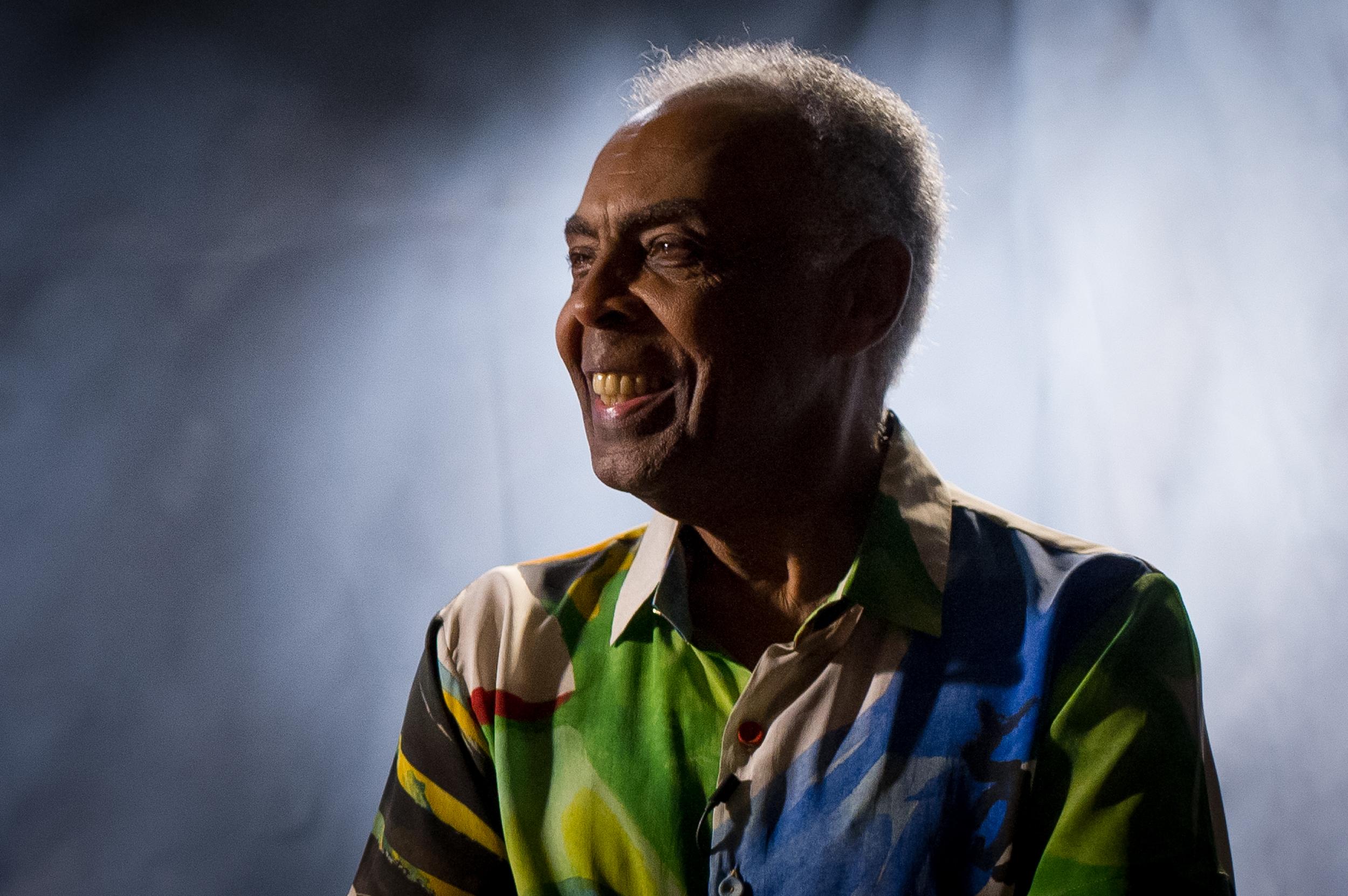Gilberto Gil, cantor, compositor e grande nome do Tropicalismo - uma revolução na música brasileira