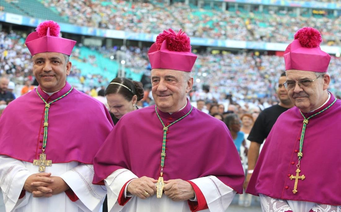 Primeira missa em homenagem a Santa Dulce foi celebrada pelo pelo arcebispo primaz do Brasil, dom Murilo Krieger