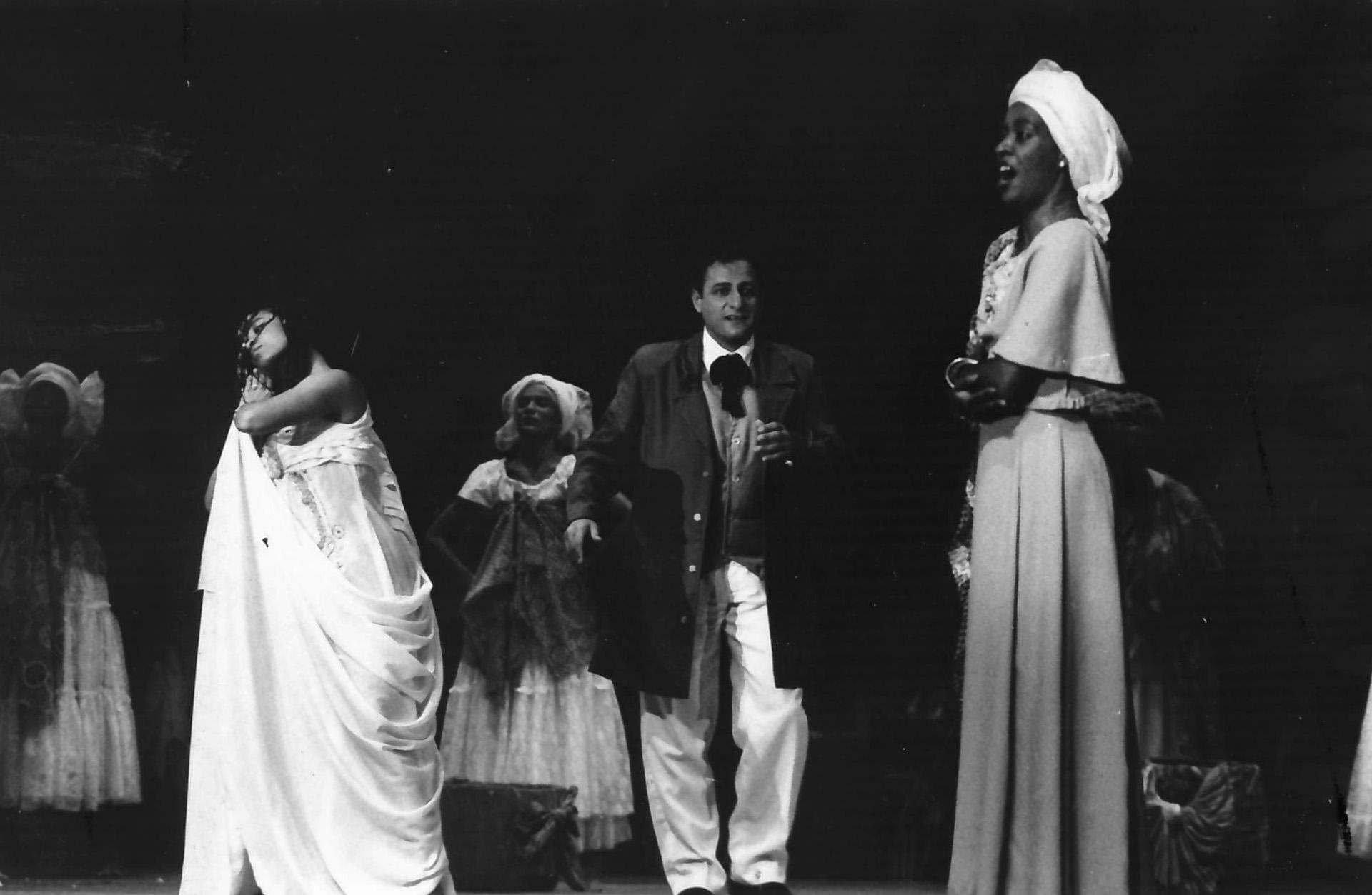 Inácio de Nonno e Elizeth Gomes interpretaram Lourenço e Lídia, na primeira versão, de 1995