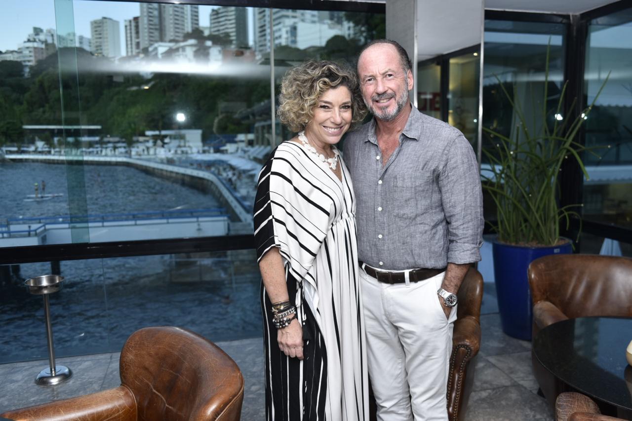 Consuelo Blocker e Roberto Leone