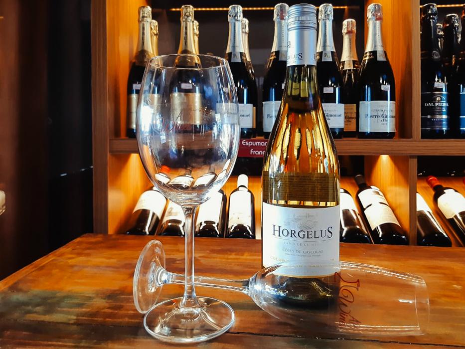 Domaine Horgelus Côtes de Gascogne Colombard-Sauvignon Blanc (R$ 95)