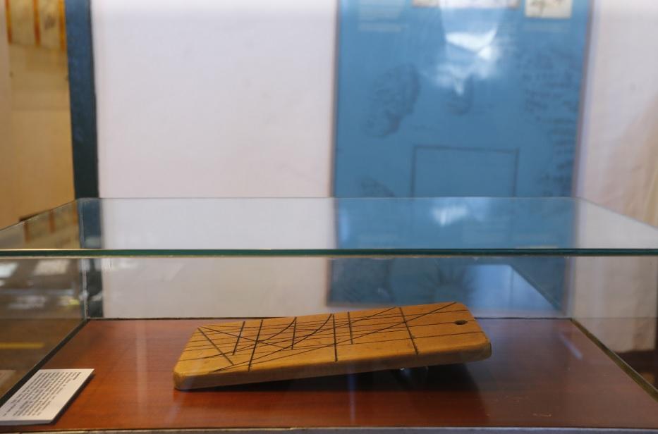 Presidente conheceu instrumentos náuticos, de cartografia e miniaturas no Museu Náutico