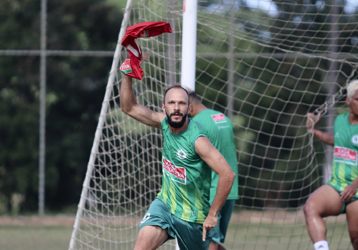 Danilo Rios vai defender o Jacuipense pela terceira temporada consecutiva