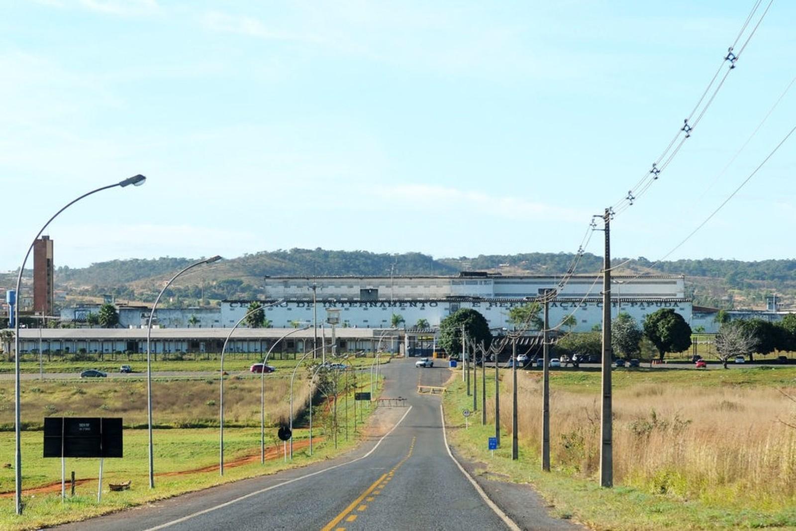 Prédio do Complexo Penitenciário da Papuda, em Brasília