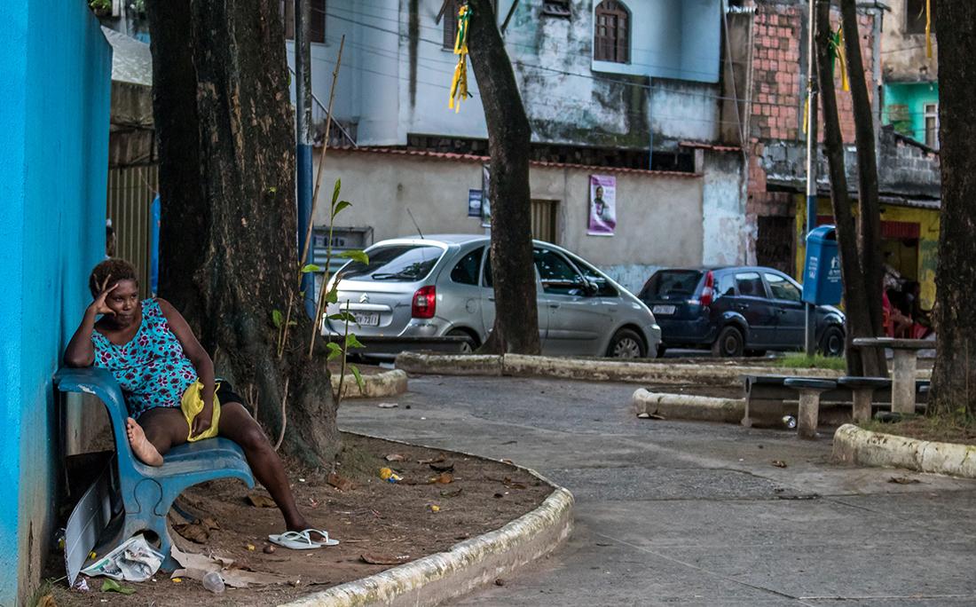 No Lobato, moradores também não respeitam as medidas de isolamento e proteção contra o coronavírus exigidas pelas autoridades.