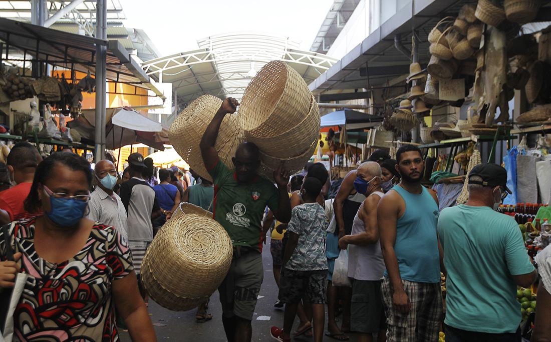 Feira de São Joaquim, Abril de 2020.
