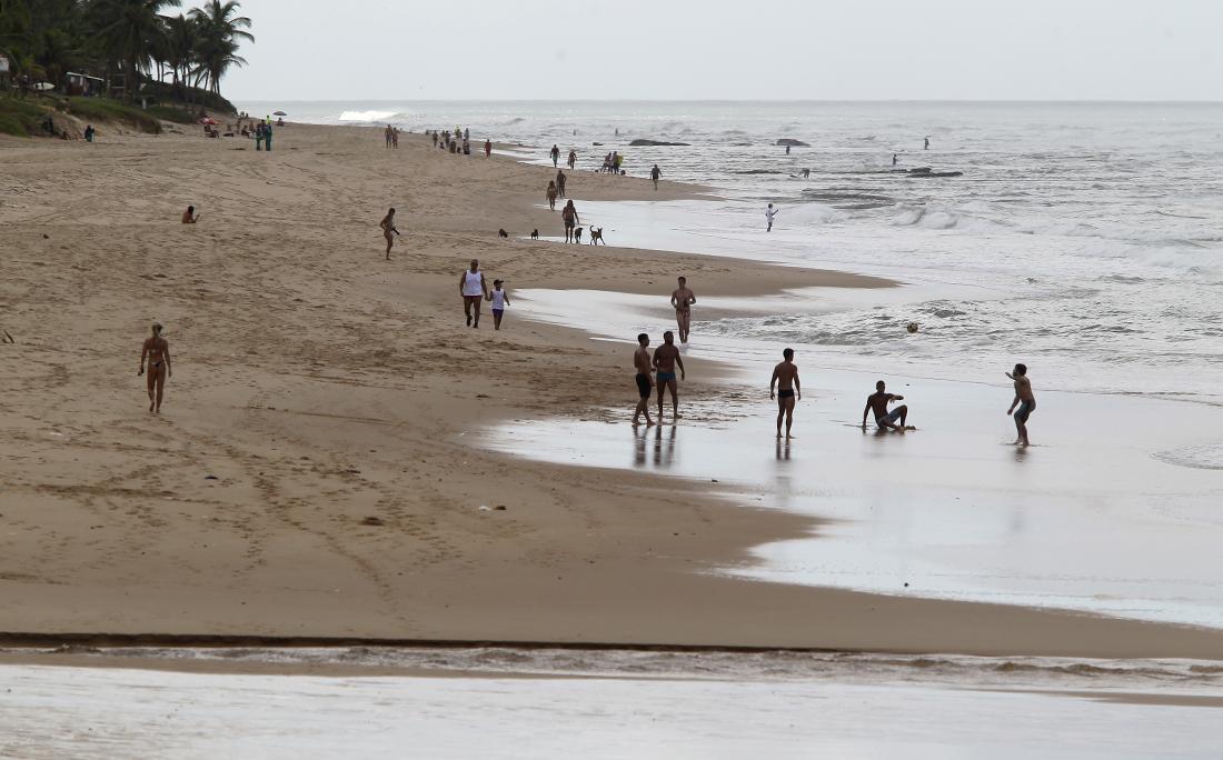 Praia de Stella Mares.