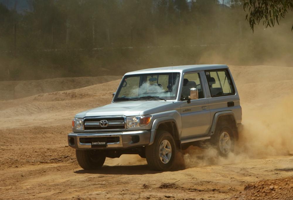 Entre os modelos oferecidos pela Toyota na Venezuela está o Land Cruiser