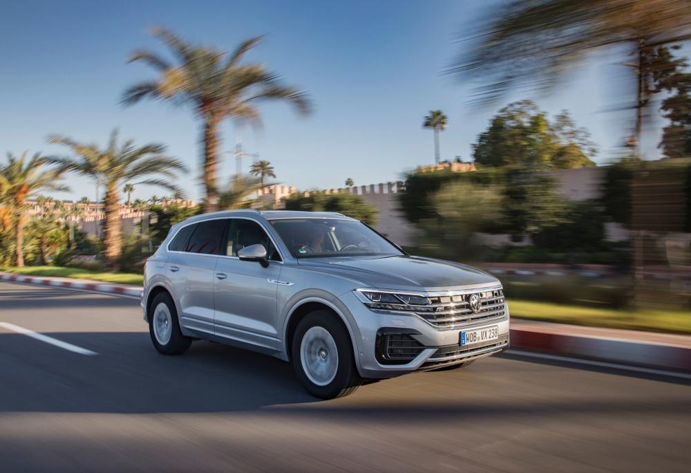 O portfólio paraguaio da Volkswagen conta com o Touareg, um SUV de luxo