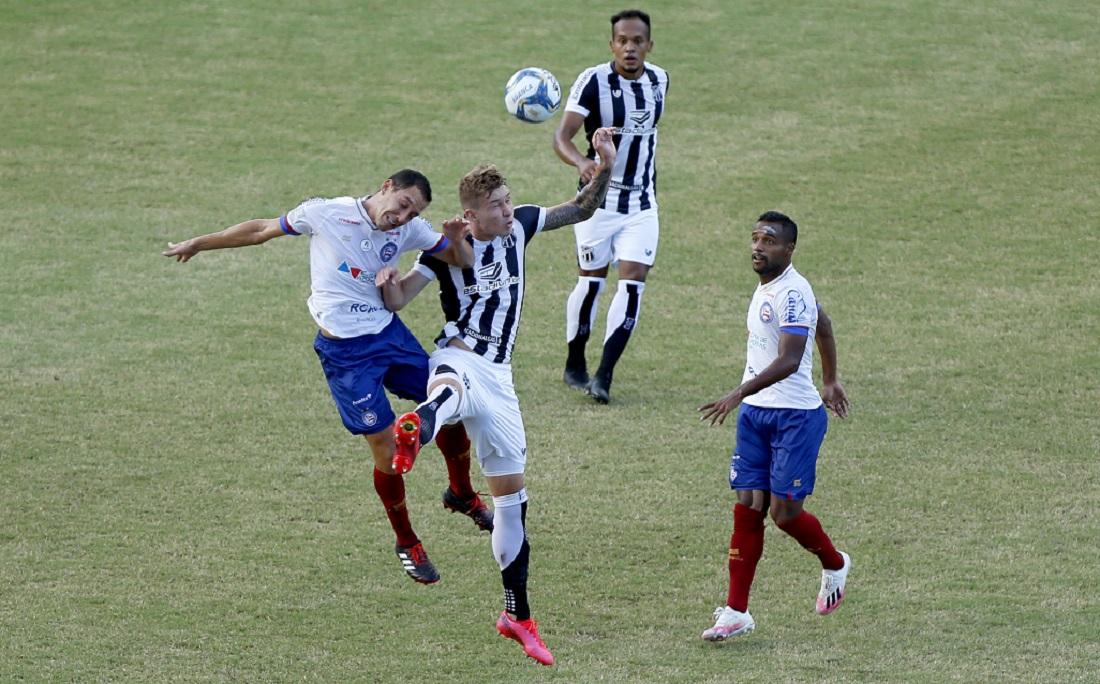 Bahia erra muito e perde para o Ceará no primeiro jogo da final da Copa do Nordeste