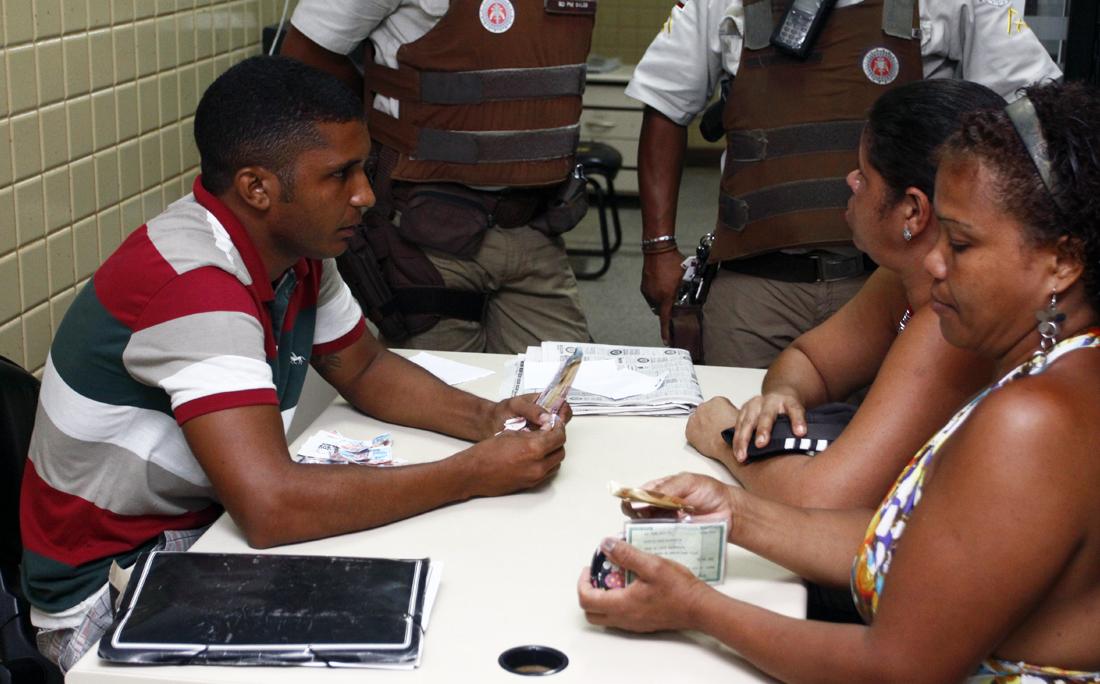 Promotor do evento, Marcelo Matos devolveu dinheiro de algumas pessoas dentro da delegacia de Periperi