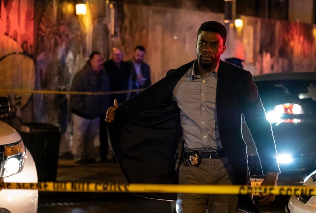 Chadwick Boseman em 'Crime sem Saída'