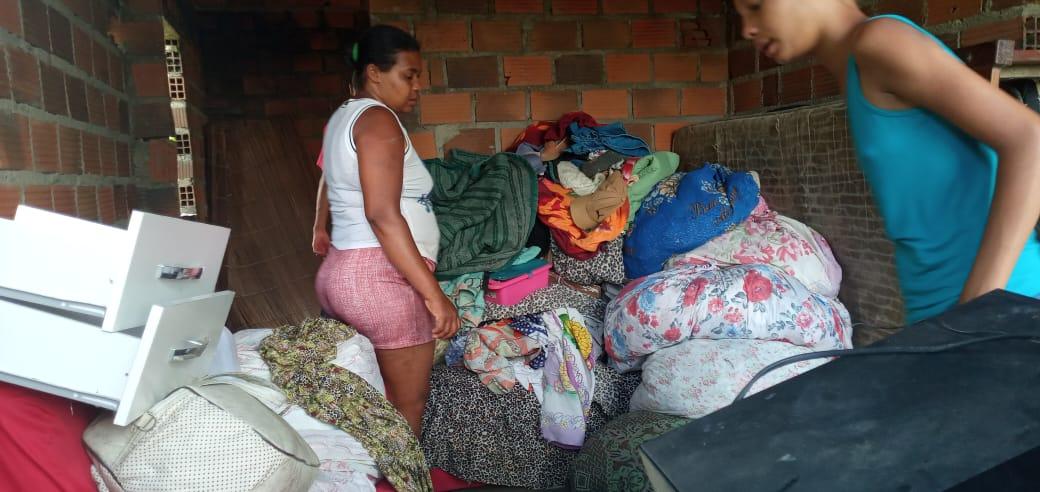 Comunidade de Feto que entrará para aluguel social da Prefeitura de Amargosa
