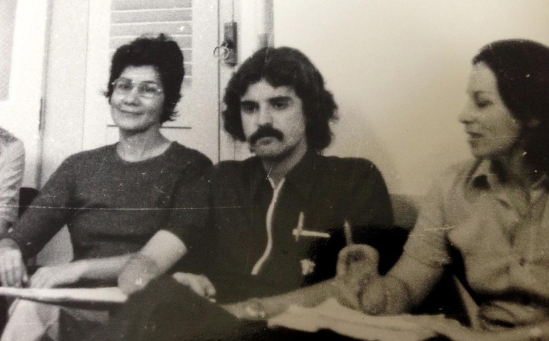 André Setaro em 1970.
