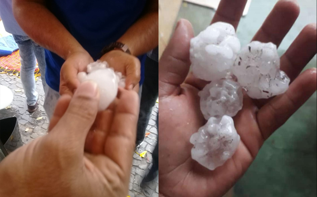 Vídeos mostram chuva de granizo em cidade do Oeste da Bahia; meteorologista  explica - Jornal CORREIO | Notícias e opiniões que a Bahia quer saber