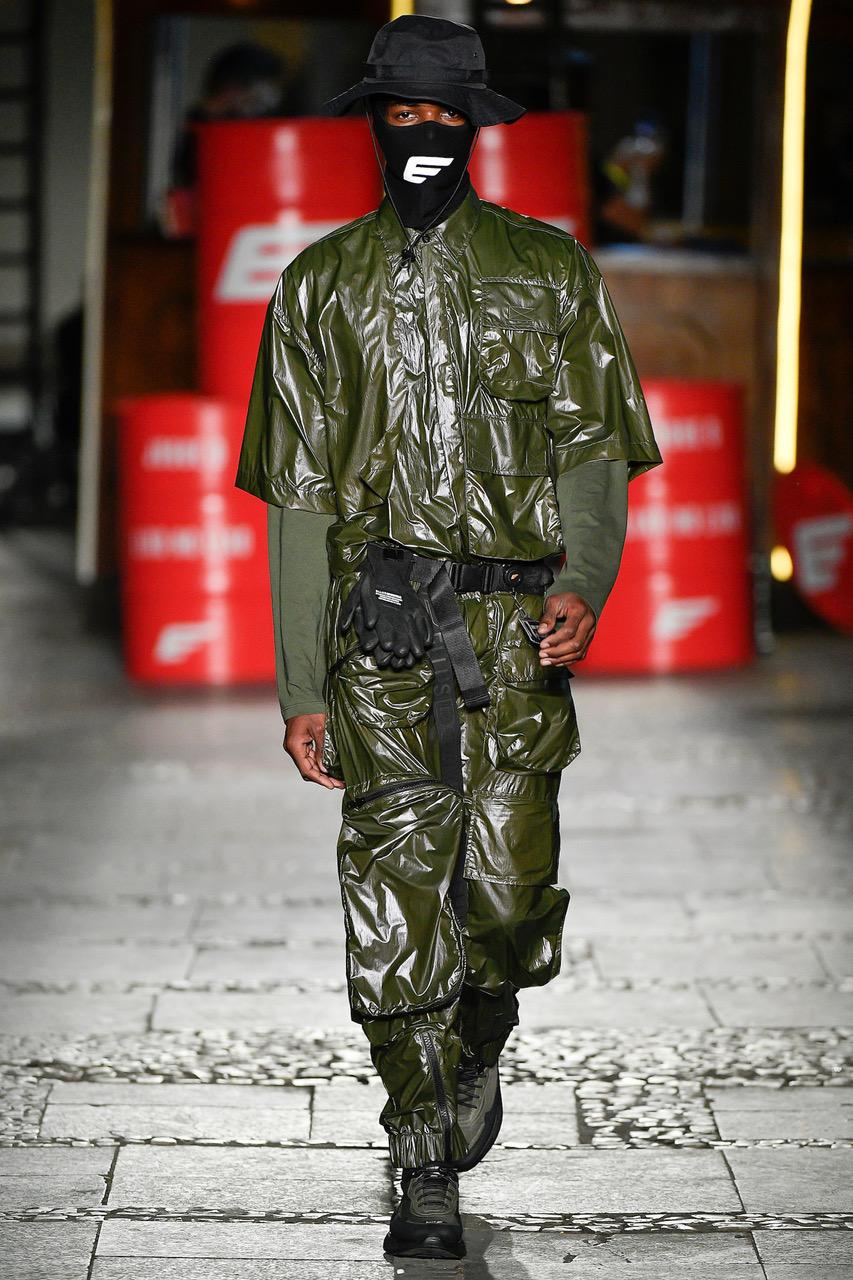 Lucas Evangelista 25 anos. Estreia foi no AFD 2017. É representado por agência de São Paulo, fez o Shanghai Fashion Week, o São Paulo Fashion Week (foto) e chegou a ser cooptado para o desfile da Versace na Itália. Posou para C&A e Renner.