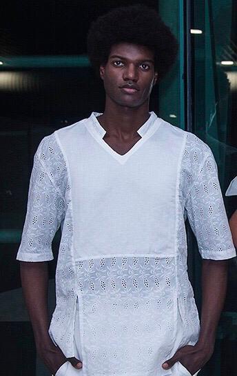 Lucas Evangelista 25 anos. Estreia foi no AFD 2017 (foto). É representado por agência de São Paulo, fez o Shanghai Fashion Week, o SPFW e chegou a ser cooptado para o desfile da Versace na Itália. Posou para C&A e Renner.