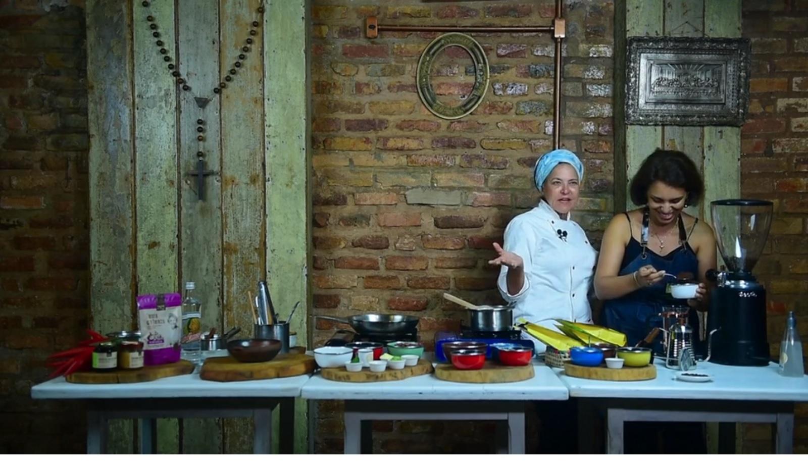 Chef Tereza Paim apresentou receita com ingredientes regionais