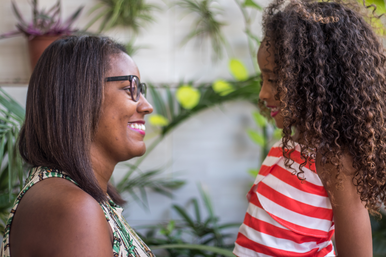Depois de 11 meses, Fernanda viu mudanças no comportamento da filha, Maria Heloísa