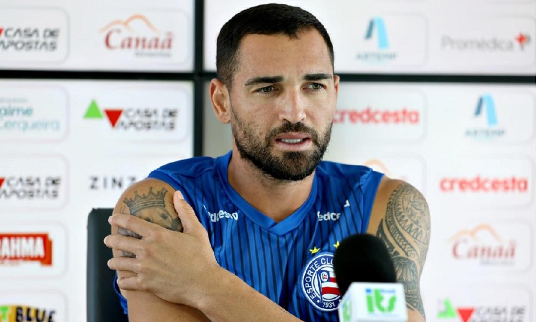 Gilberto garante que vai lutar até o fim para evitar queda do Bahia para a segunda divisão