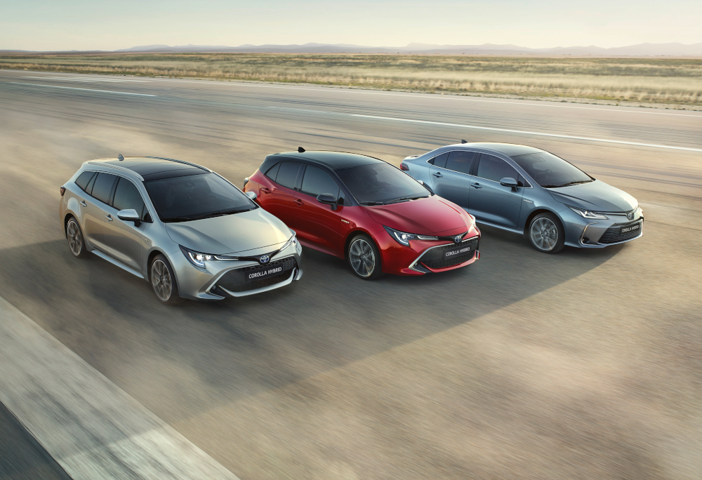 1) Toyota Corolla: 1.134.262 unidades