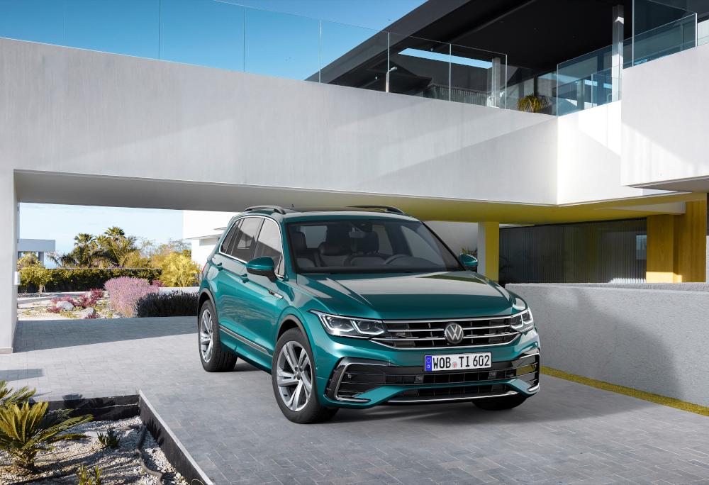 8) Volkswagen Tiguan: 607.121