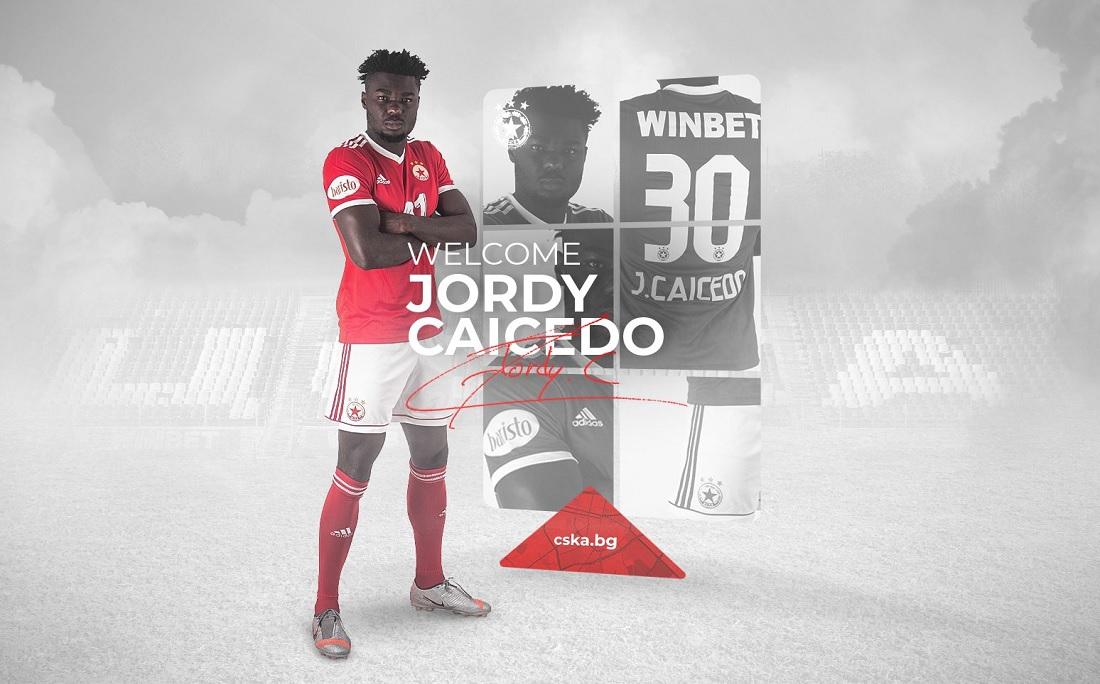 Jordy Caicedo foi anunciado pelo CSKA Sofia
