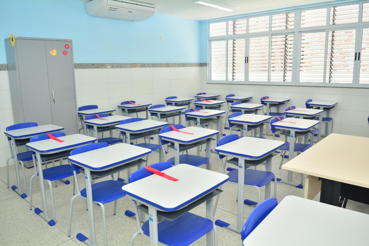 Colégio Municipal de Educação Infantil de Nova Sussuarana está preparada para retorno das aulas presenciais