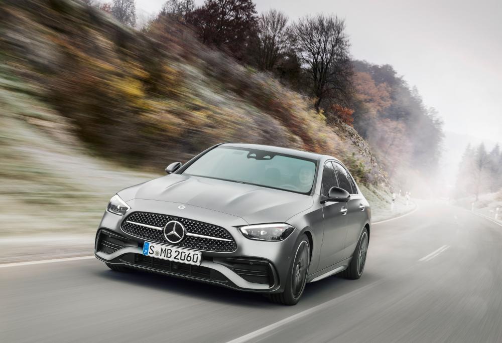 O Classe C é um dos modelos mais vendidos da Mercedes-Benz