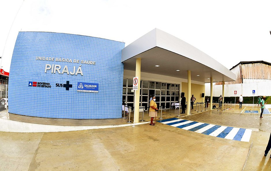 UBS de Pirajá será exclusiva para tratamento de covid (Foto: Valter Pontes/Secom)