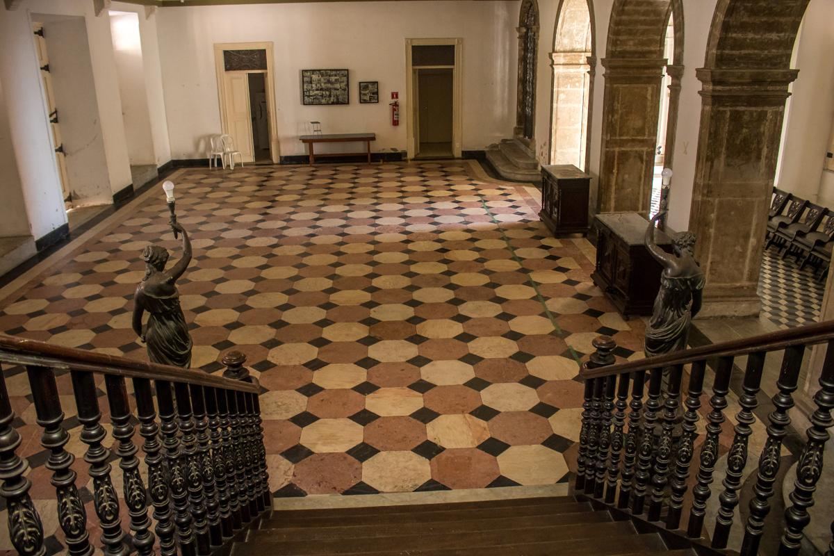 Foyer do Salão Nobre.