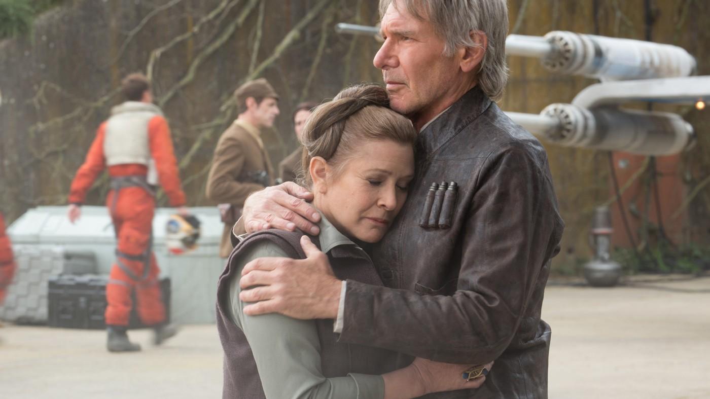 Princela Leia Organa e Han Solo